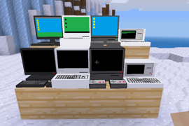 4 new computers