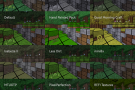 Gridding other texture packs