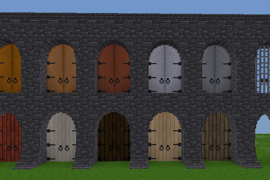 3node tall arched doors