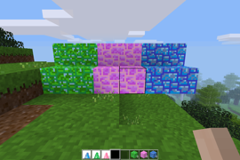 All prismatic stone blocks